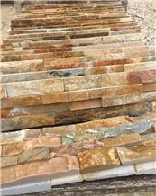 Best Price China Rusty Slate Cultured Stone/Wall Cladding/Stacked Stone Veneer Clearance/Manufactured Stone Veneer/Feature Wall/Ledge Stone/Split Face Culture Stone/High Quality Cultured Stone