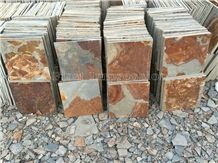 Best Price Rust China Rust Culture Stone/Slate/Golden Grain Slate/Rusty Slate/Slate Cultured Stone Corner/Rust Yellow Slate Tiles/Slate Floor Tiles/Slate Wall Covering/Slate Wall Tiles/Slate Slabs