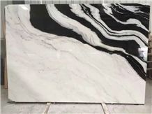 Chinese Best Price Panda White Marble Tile & Slab/Dalmata Marble/Mountain White Marble/China White Marble/Black & White Marble Big Slabs/China Marble/New Polished Best Price Marble Tiles