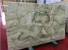 High Grade Antique Green Onyx Slabs & Tiles/Straight & Cross Cutting/Boot Match/Background/Wall Covering/Stair/Skirting/Cladding/Cut-To-Size for Floor Covering/Interior Decoration/Wholesaler