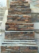 High Quality & Best Price China Rusty Slate Cultured Stone/Wall Cladding/Stacked Stone Veneer Clearance/Manufactured Stone Veneer/Feature Wall/Ledge Stone/Split Face Culture Stone/Wholesale Slate