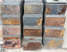 High Quality Rust China Rust Culture Stone/Slate/Golden Grain Slate/Rusty Slate/Slate Cultured Stone Corner/Rust Yellow Slate Tiles/Slate Floor Tiles/Slate Wall Covering/Slate Wall Tiles/Slate Slabs
