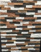 Hot Sale Slate Tiles/Nature Cultured Stone Panel/Wall Panel/Ledge Stone/Veneer/Stacked Stone for Wall Cladding/Decorative Format Tile/Feature Wall/Corner Stone/Ledge Stone/Colorful Culture Stone Slate
