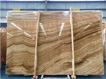 Hot Sale Wooden Onyx Slabs & Tiles/China Wooden Onyx/Background Decoration Stone/Wall Covering Tiles/Home Decoration Building Stone/Onyx Pattern/Onyx Floor Tiles/Best Price Beige Onyx