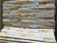 Multicolor China Culture Stone/Slate/Marble/Granite/Golden Grain Slate/Rusty Slate/Slate Cultured Stone Corner/Rust Yellow Slate Corner Stone/Wall Cladding/Ledge Stone/Chinese Slate Tiles/High Quality