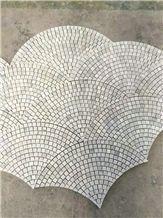 New Design Statuario Carrara Grey & White Marble Mosaic/Design Beautiful Stone Mosaic/Polished Nice Design Interior Stone Mosaic Tile/Natural Marble Stone Mosaic/Hot Sale Mosaic/Beautiful Mosaic