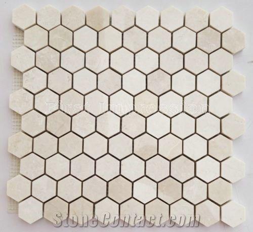 White Onyx Mosaic Tiles
