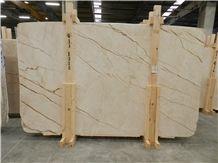 Melisa Gold Marble Tiles, Slabs