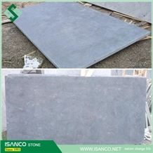 China Shandong Origin Grey Color Bluestone Honed Surface Processing No Cat Paws Floor Paving Windown Sills Wall Cladding Usage Blue Stone Cheap Price Top Quality Cheap Bluestone Tiles & Slabs