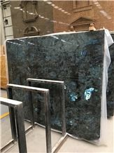 Labradorite Blue Granite Slabs, Granite Tiles