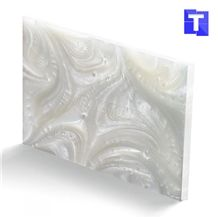 Artificial Onyx Marble Stone Alabaster Resin Panel