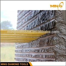 Super Quality Diamond Rubber Wire Saw Manufactuerrs for Stone Quarry on Sale,Rubber Cutting Tools