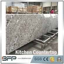 Alps Granite Rembrandt Bianco Alps Granite Slabs,White Genesis Granite for Kitchen Countertop