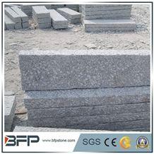 G603 Kerb Stone, Bianco Crystal Granite G603 Granite Pillars, Hubei White Granite Stone, Pepperino Light Granite Landscape Design, Crystal White Granite