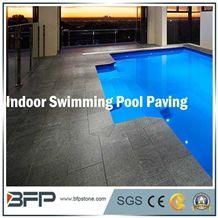 Natural Chinese Black Granite G684 Basalt Granite for Swimming Pool Coping/Pool Surrounding