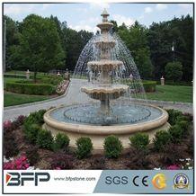 Outdoor Sculptured Fountain,Garden Marble Fountain,Sculpture Fountain