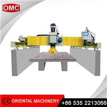 Plc Stone and Concrete Automatic Polishing Machine with Single Head