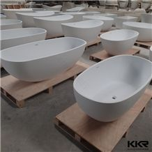 Bathroom Solid Surface Bathtub, Clawfoot Tub