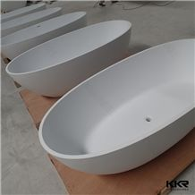 Fashion Free Standing Bathtub 1800 Artificial Marble Bowl Bathtub