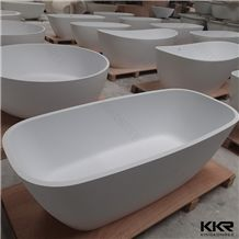 Kingkonree Matt White Two Sided Color Second Hand Bathtub