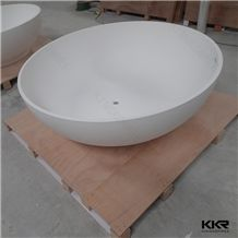 Kkr Artificial Stone Bathroom Colorful Gel-Coat Bathtub