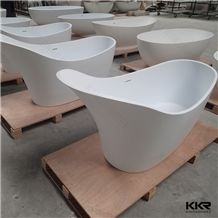 Modern Solid Surface Bathtub, Freestanding Bath Tub