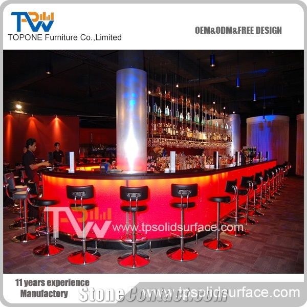 Bar Stand for Coffee Shop Used Commercial Bar Counter with ...
