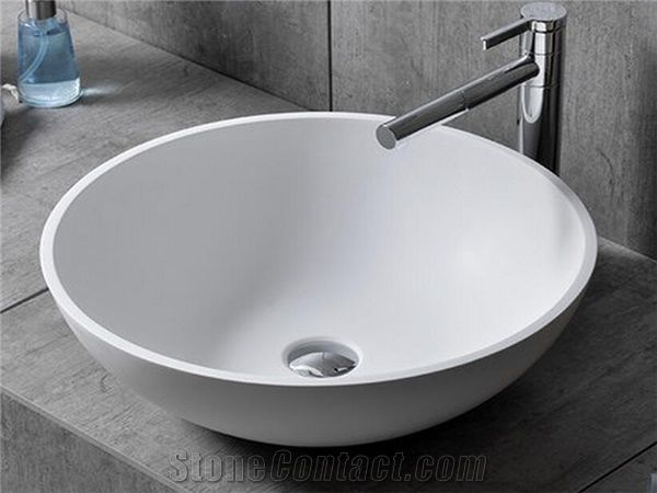 Corian Acrylic Solid Surface Kitchen Sinks, Chinese Factory Supply ...
