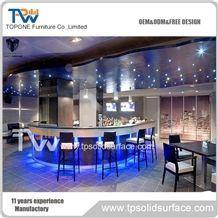 Led Lights Modern Bar Counter Restaurant Bar Tops for Sale from ...