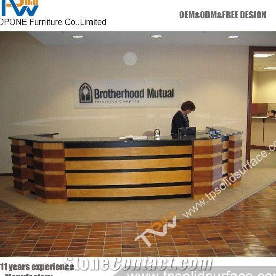Medical Office Reception Desk Mobile Shop For Bank