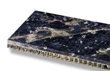Lapiz Azulis Stone on Honeycomb