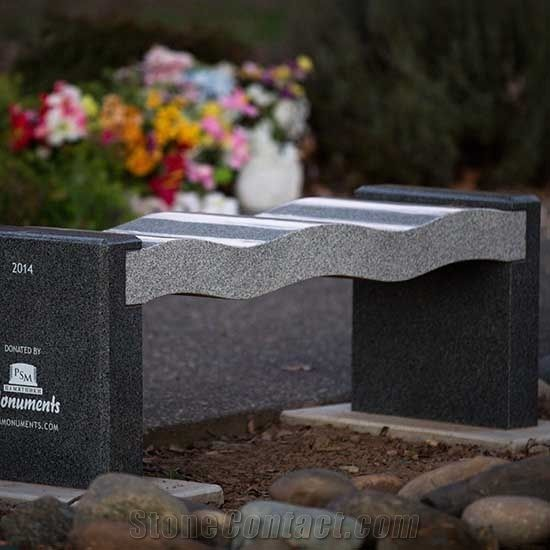 Memorial Granite Benches From United States Stonecontact Com