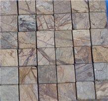 Bidasar Brown Marble Mosaic
