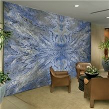 Azul Bahia Wall Panel Interior Office Decor