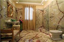 Light Green Onyx Bathroom Decoration