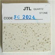 Beige Color Quartz Stone Tiles, Engineered Quartz Slabs
