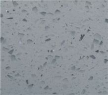 Popular Single Quartz Stone Slabs & Tiles, China White Quartz