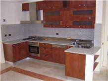 Supreme White Granite Kitchen Countertop