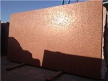 Red Marble Al-Andalus Slab Aged