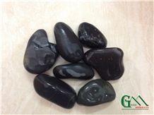 Pebbles, Black Limestone Pebble & Gravel