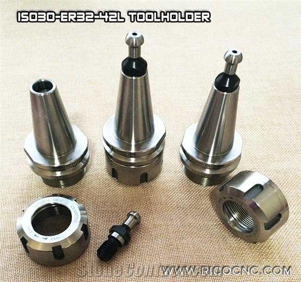 ISO30 ER32-42L Balance Collet Chuck Holder G2.5 30000RPM CNC Tool Holder