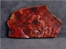 Red Stromatolite Slabs, Stromatolite Red Calcarenite Slabs & Tiles