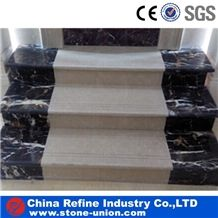 Beige Marble , Marble Flooring Stairs and Risers , Marble Steps,Top Quality Steps Natural Stone for Home Decoration and Interior Stone Covering Paving
