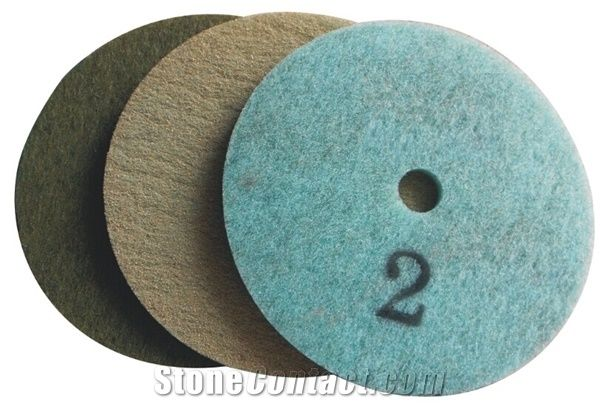 Fiber Buffing And Cleaning Pads Floor Diamond Restoration