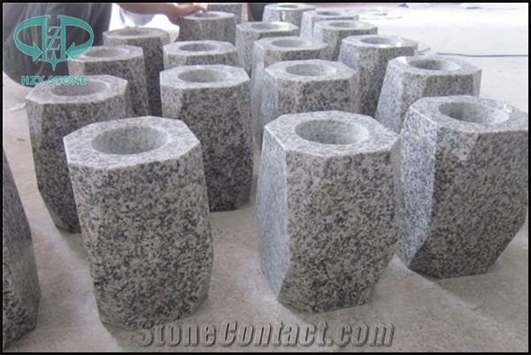 Red Granite Monumental Vases Urns Monumental Sculptures