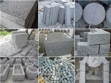 G623 Light Grey Granite, G623 Granite Cube Stone & Pavers