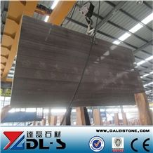 China Brown Wooden Grain Marble Polished Tiles & Slabs, Wooden Coffee Marble Floor Tiles, Woodstone Wenge Marble Strips, Kaiser Brown Marble, Wenge Marble Big Slabs, Ebano Marble in Slabs