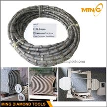 Diamond Mono Wire for Profiling and Squaring