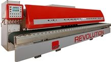 Revolution the First Combined Round and Flat Edge Polishing Machine