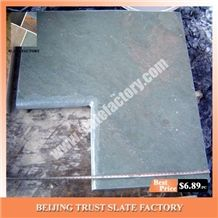 Silver Grey Pool Coping Stone,Silver Gray Color Pool Coping Pavers,Swimming Pool Paving Designs
